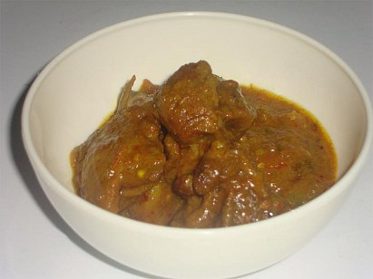 Mutton Manpasand - Spicy Mutton Curry with a tinge of sweetness